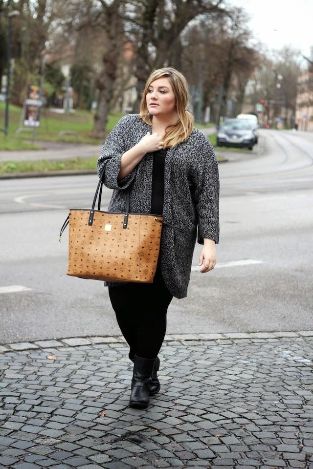 Streetstyle MCM Shopper Tasche