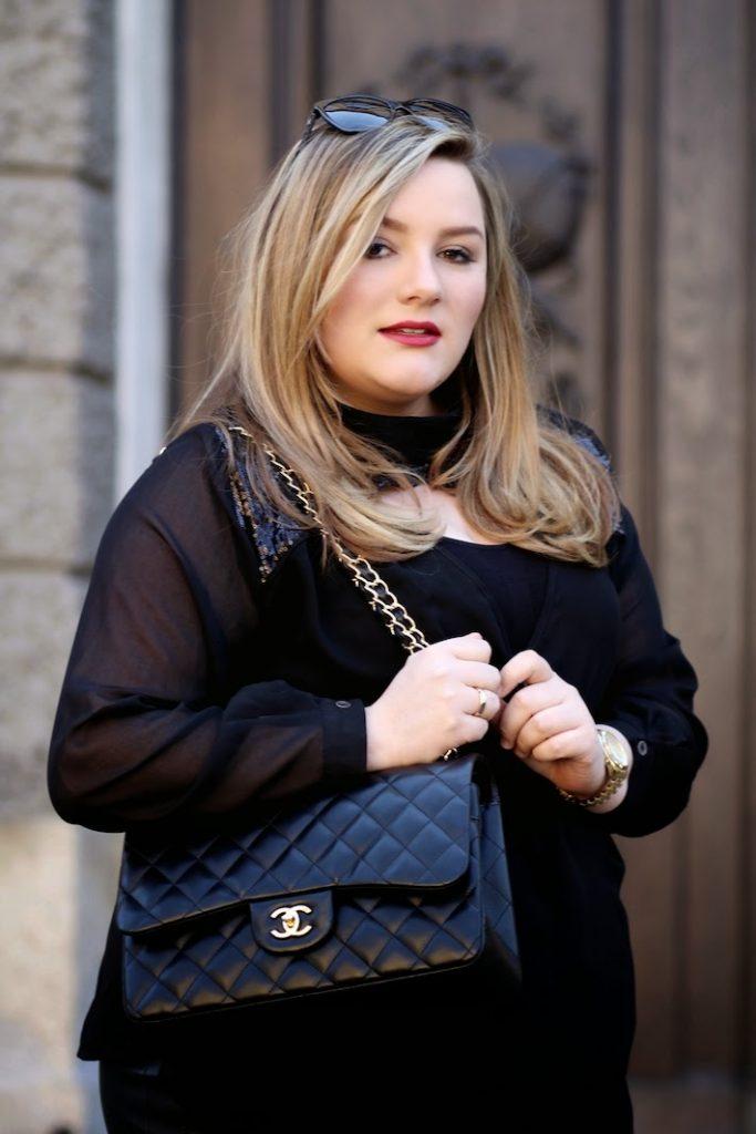 Chanel Jumbo Plus Size