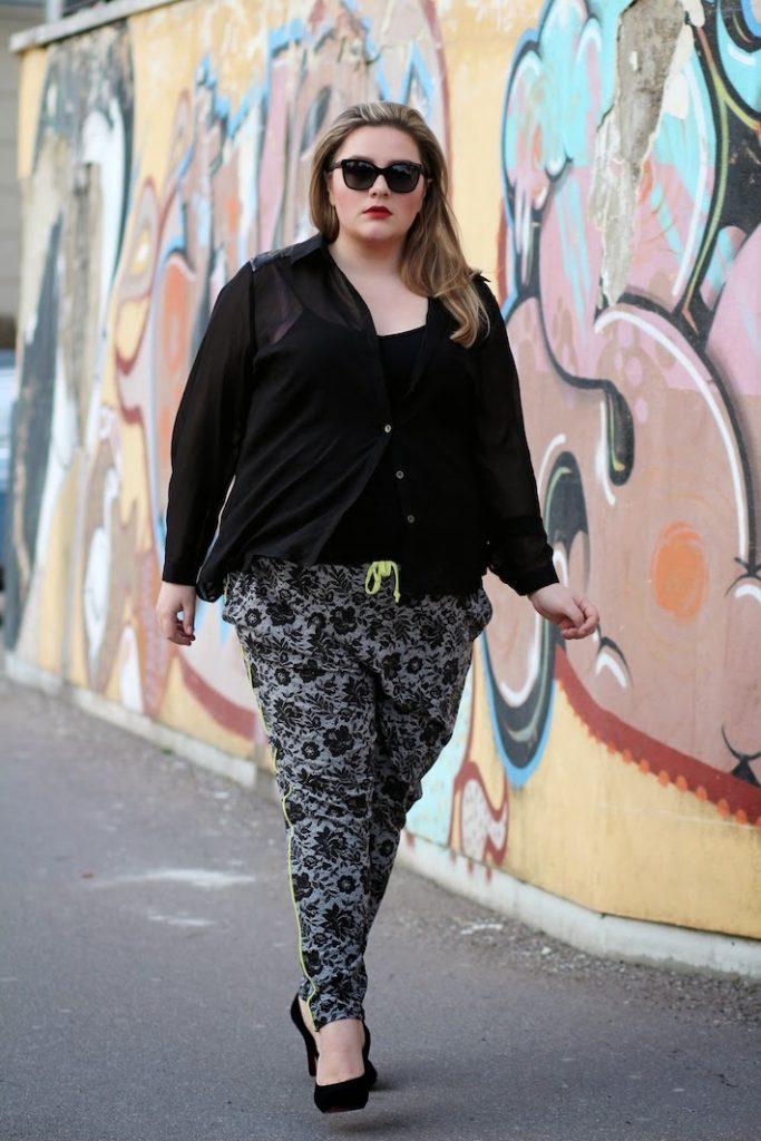 Plus Size Outfit Jogginghose