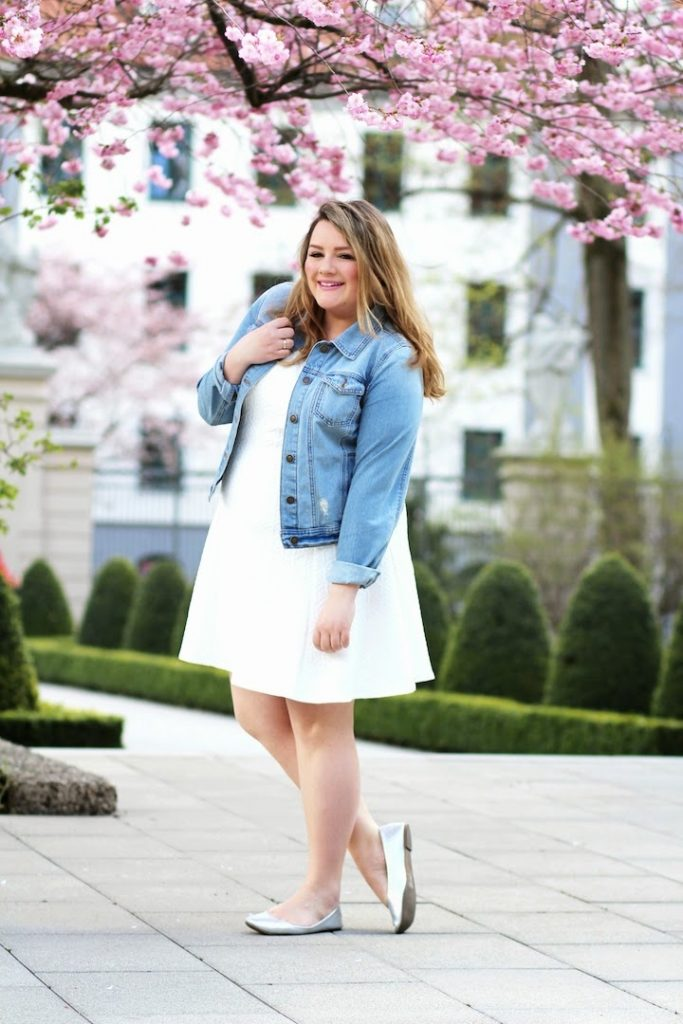 Plus Size Outfit Cherry Blossom