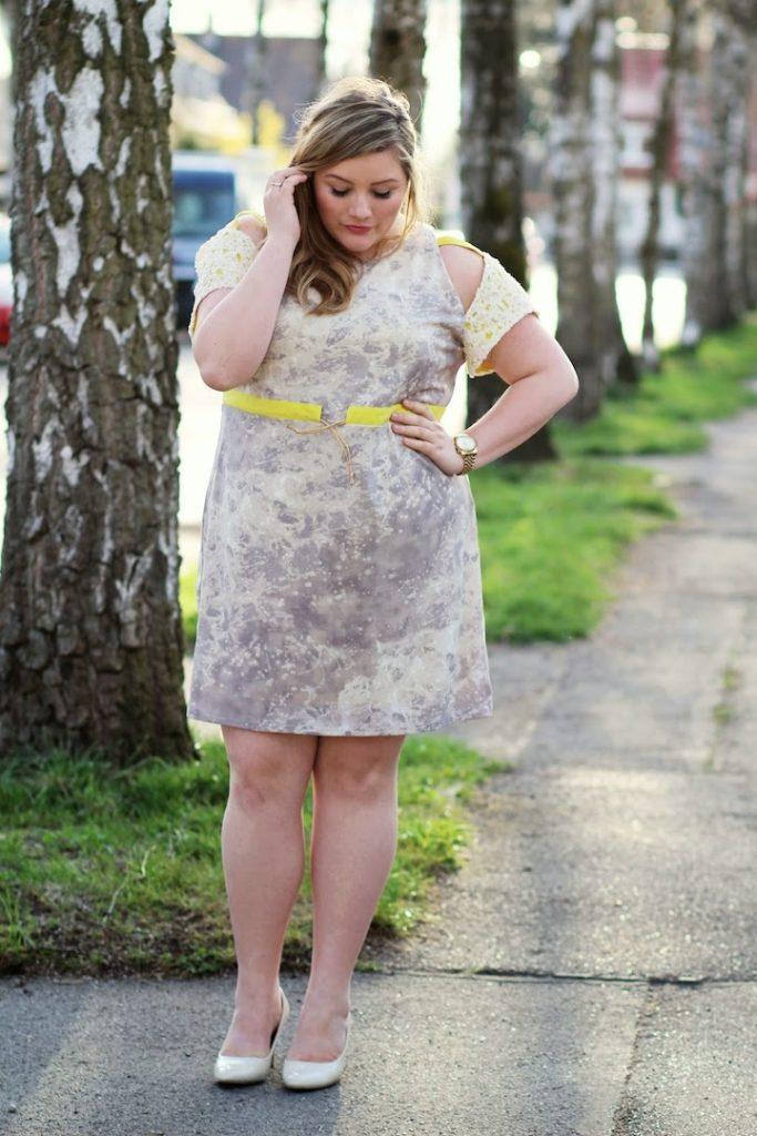 Kleid Curvy