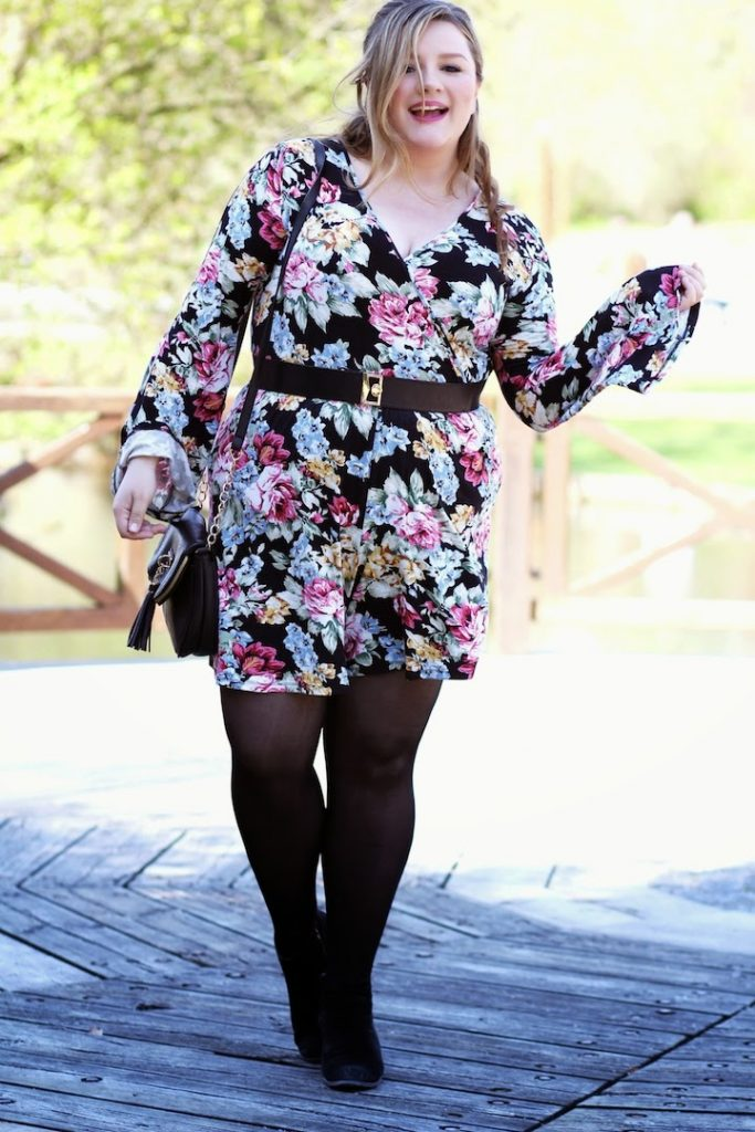 Plus Size Outift 70er style