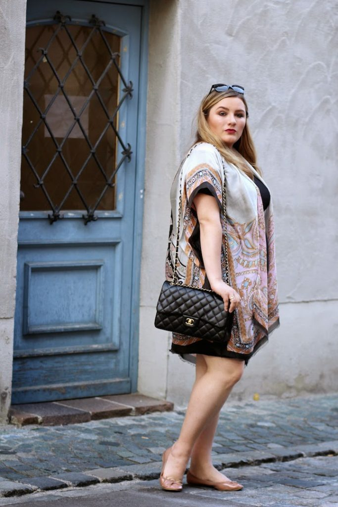 Codello Kimono Plus Size Outfit Curvy