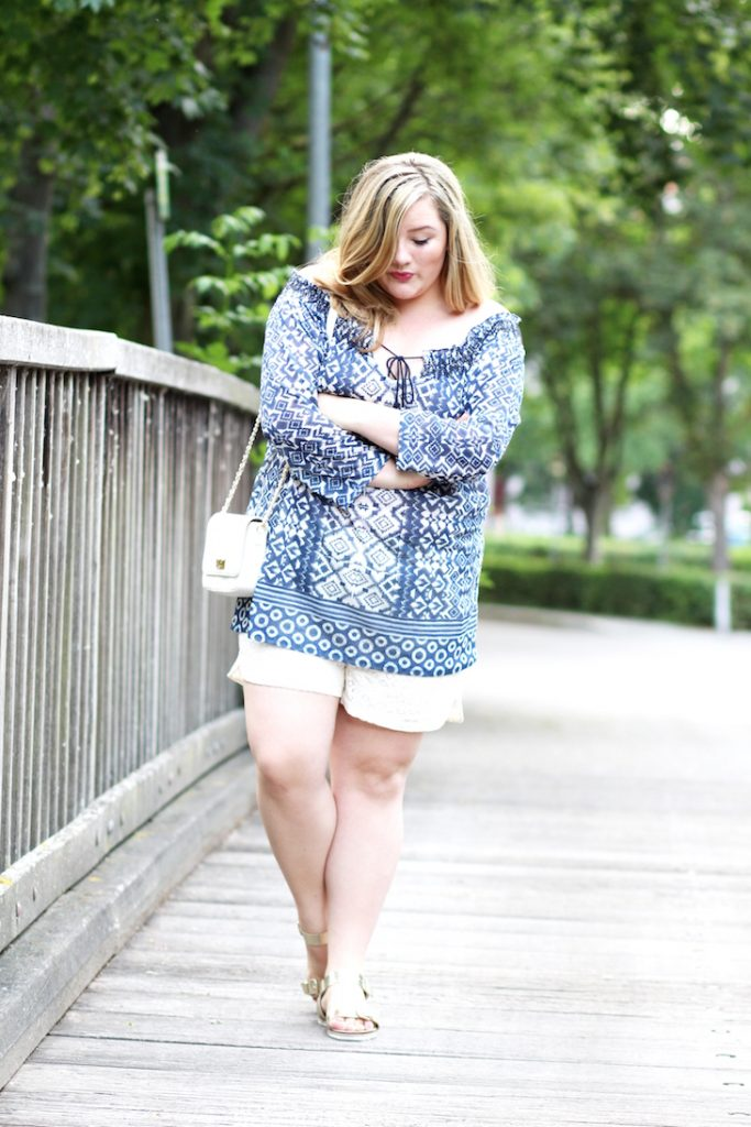shorts und tunika plus size
