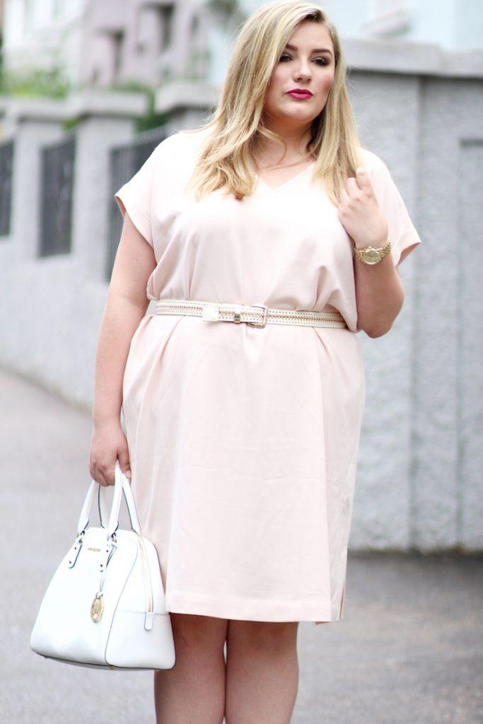 rosa Kleid Zizzi