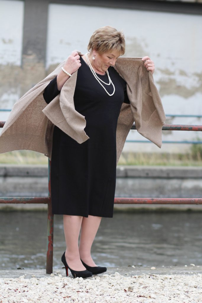 Cape Herbst Outfit Plus Size