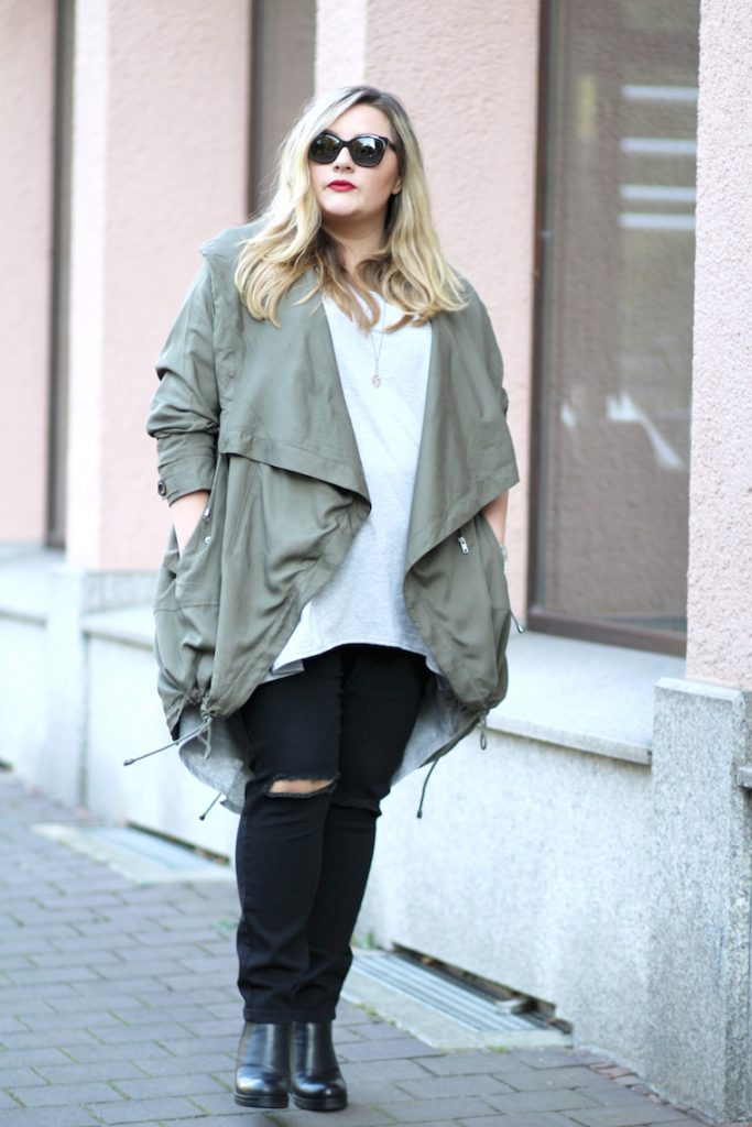 oversized Look plus size
