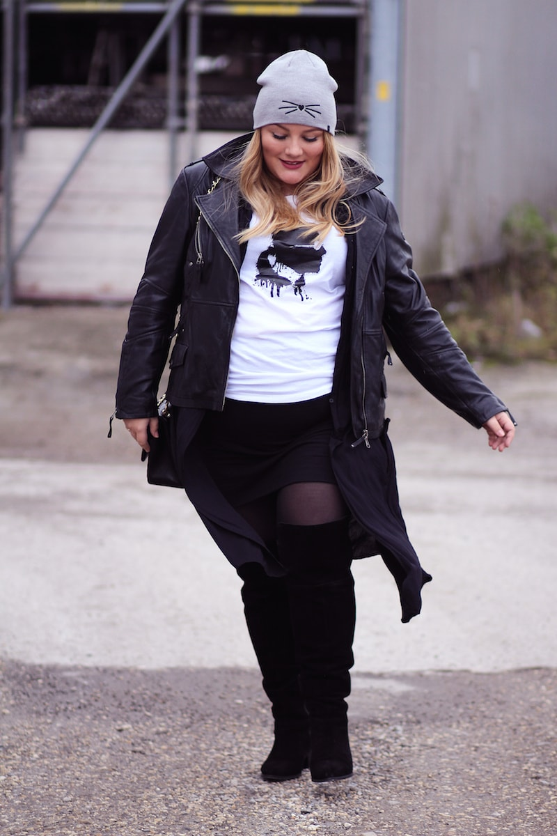 Plus Size Look Karl Lagerfeld Shirt