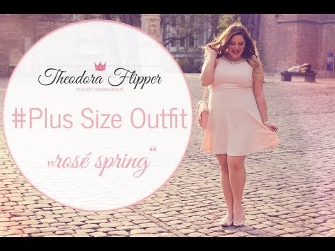 Plus Size Outfit – rosa Kleid by Forever 21+