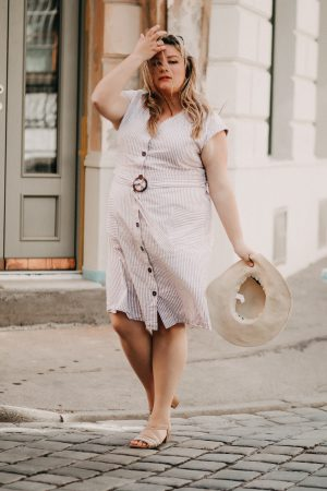 Dolce Vita – Plus Size Look | Button Down Dress