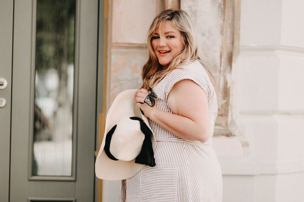 Dolce Vita – Plus Size Look | Button Down Dress