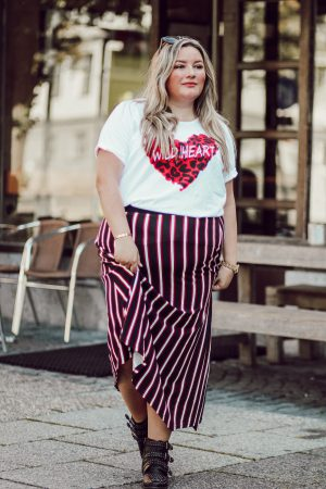 "Plus Size Outfit ""Wild Heart"" – Herbstlook"