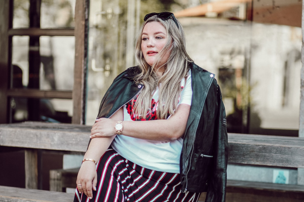 """Plus Size Outfit """"Wild Heart"""" – Herbstlook"""