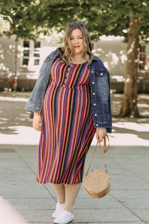 I like Stripes – Plus Size Outfit von MIAMODA